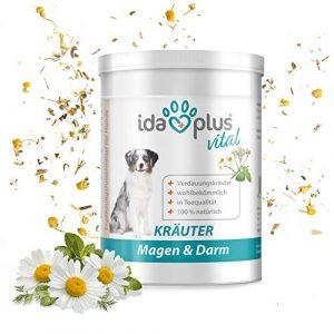 Ida Plus – BARF Herbes Estomac & Intestin – (100% naturel) complément alimentaire pour chien & chat (150 g)