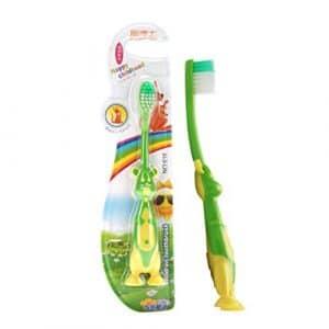 MachinYesell Usage Quotidien de la Brosse à Dents Souple pour Enfants de Brosse à Dents Cartoontooth pour Enfants Junior garçons et Filles au Hasard