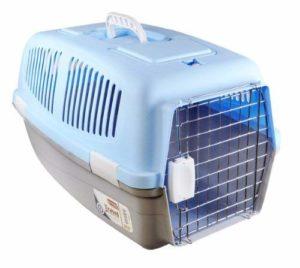 Medium Plastique pour animal domestique Chat Chien Chiot Transport Voyage Transport Niche Cage