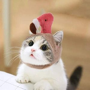 xuanyang524 Chapeau de Costume d'animal familier, Costume Mignon de Cosplay Mode pour Petits Chiens