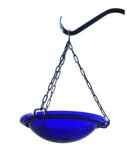 Achla Designs Bleu Cobalt à Suspendre Oiseaux
