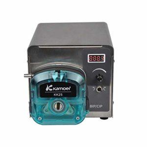 IDABAY Pompe Péristaltique Miniature Variété de Modes de Fonctionnement Pompe Intelligente Machine-Noir(150W)