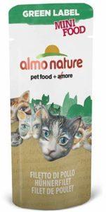 Almo Nature – Complément Almo Nature Green Label Mini Food Au Filet de Poulet Green Label Filet de Poulet