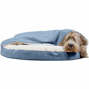 Furhaven Rond Snuggery Terrier Panier pour Animal Domestique