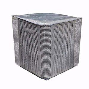 Wapern Couvercles Robustes AC Defender – Couvercle De Climatiseur en Plein Maillage – Couvercle AC – Protection Extérieure (S/M/L)