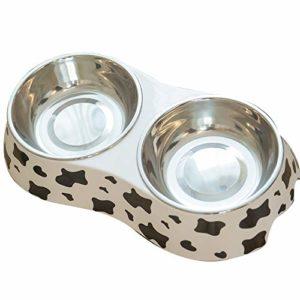 Bol pour Chien Bol pour Chat Bol pour Animal De Compagnie Bol De Nourriture pour Chat – Facile À Nettoyer – Convient À Plus d'animaux