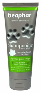 Beaphar – Shampooing Premium poils longs – chat – 200 ml