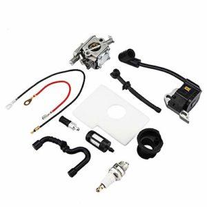 Jeffergarden Carburetor Bobine d'allumage Carb Set pour Stihl 017 018 MS170 MS180 Scie à chaîne