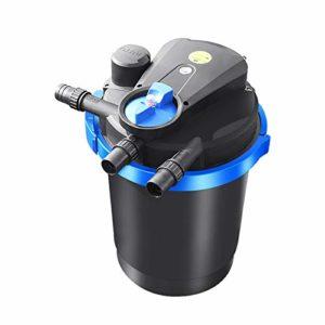 LUOSHUI Système de Distribution Automatique de Filtration de Filtre de Filtre d'étang de Carpe Grand système de Circulation d'eau d'étang de Poissons