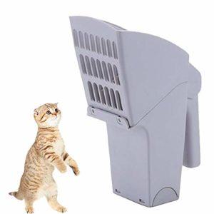 MEKEET Pelle à litière pour Chat Facile à Nettoyer avec Sacs à déchets pour Animaux domestiques