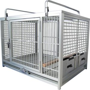 King's Travel Cage L – Bleu