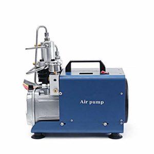 Pompe électrique Compresseur d'air à haute pression de gonfleur de compresseur d'air de 220V 30MPA 4500PSI électrique