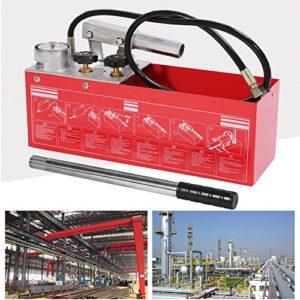Pompe Test pression, Max. Pression 5mPa preuve système hydraulique en métal pour testaggio la pression du tuyau de l'eau de système à main