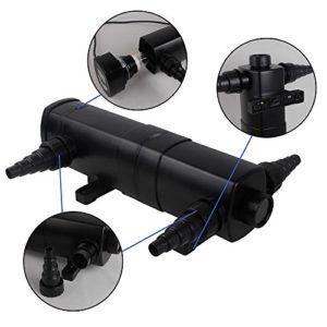 Speed UVC Clarificateur Stérilisateur de bassins de étang Lampe rayons 36W