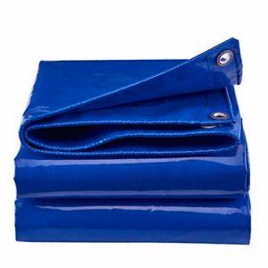 Fovert Ross Toile Oxford imperméable en Toile de Camping pour abri de Piscine pour Camping Car et Voiture épaissir Poly Tarp Blue