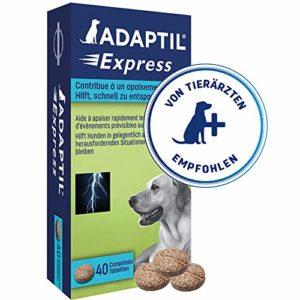 ADAPTIL Express – Boite de 40 Comprimés Apaisants Pour Chiens