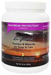 Dr. Goodpet Maximum Protection Formula – Delicious Premium Quality All Natural Multi-Vitamin/Mineral Powder by Dr. Goodpet