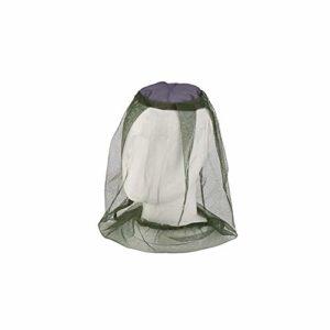 Namgiy Tête Net visage Chapeau Net Mosquito Fly insectes Bee Pêche Masque Protection de voyage en maille légère