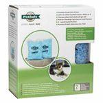 PetSafe – Litière pour Chat Cristal Non-Agglomérante Bleue Haut De Gamme Scoopfree, Lot de 2