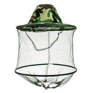 Westeng Camouflage Apiculteur Chapeau pour empêcher Les piqûres d'abeilles 1pcs