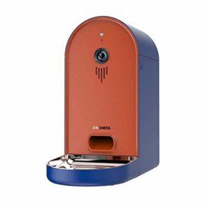 Alimentation intelligente Smart Pet 6L Chronométrage quantitatif 165 ° Vision nocturne Caméra grand angle Interface USB Double alimentation du chargeur de chat intelligent Machine d'alimentation autom