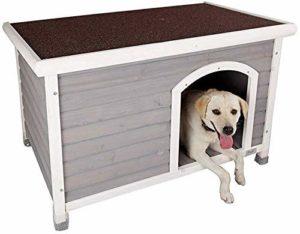 AYHa Pet Bed Dog House, animaux Maison, Niche, Grande et moyenne taille chien, chenil extérieur, antipluie chenil pour animaux Maison,M