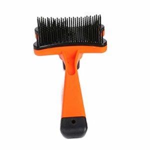 Chien Et Chat Brosse à Cheveux Brosses Slicker Autonettoyant Toilettage pour Animaux Slicker Brosse pour Animaux Tous Les Tailles Et Types De Cheveux
