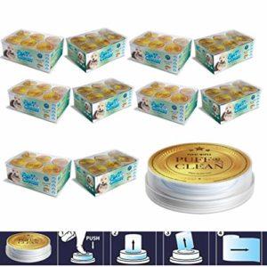 Pufai Puff Clean Lingettes nettoyantes pour animaux domestiques 240 capsules