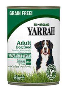 288er Kit Yarrah Vega, sans céréales avec cranb rries 380g Bio Vegan Nourriture pour chien