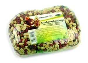 Aliments complémentaires pour Écureuil 600gr (2 sachets)