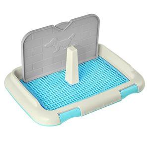 Amyove Toilette portable pour chats avec colonne pour urinoir