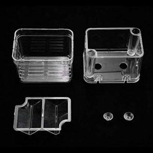 ArgoDBar Multifonctionnel incubateur de boîte d'isolement de Reproduction de Poissons pour l'aquarium d'aquarium d'aquarium Accessoire réservoir de réservoir Transparent