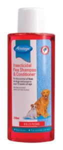 Armitage Shampooing pour chien puces Shampooing et revitalisant insecticides, 250ml