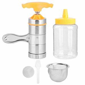 AUNMAS Portable extracteur de Miel en Acier Inoxydable équipement Mini Presse-Miel Outil de Compression Outil d'apiculture