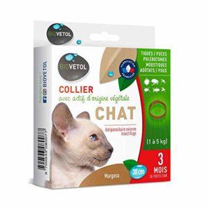 Biovetol – Collier Anti-puce pour Grand chien (+ de 15 kg)