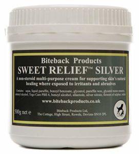 Biteback Products 'Sweet Relief Silver' ™ Crème Multi-Usage pour la guérison Naturelle de la Peau 500g