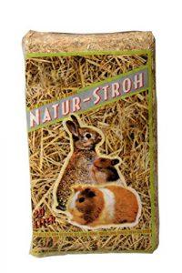 Bubimex Paille Naturelle pour Petit Animal 30 L – Lot de 3