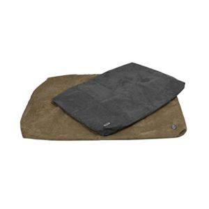 Buster Housse pour matelas en mousse visco-élastique Gris 100 x 70 cm