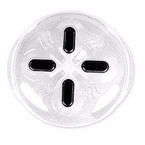 BYFRI Micro-Ondes Magnétiques Plaque Couverture Splatter Garde avec Évents À Vapeur Et des Aimants Puissants Aimants Alimentaire Splatter Garde