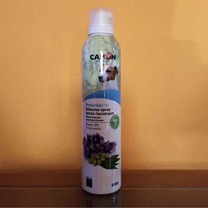 Camon Mousse Spray sans rinçage Huile de Neem et Lavande – Protection Line Protection Naturelle Contre Les parasites