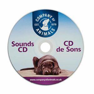 Clix Chien CD de Sons et de Bruits pour Chiot et Chien