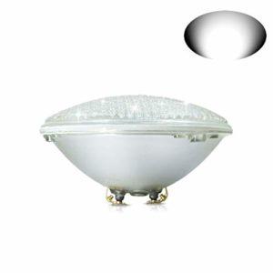 COOLWEST 36W Lampe de Piscine LED Blanc Lumière PAR56 12V DC/AC, Etanche IP68 Éclairage sous-marin