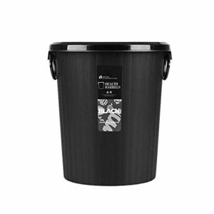 Cuisines, salles d'eau, ordures Conteneur Bin for salles de bains, Little Trash Can Wastebasket, Grand Exposed Survivre Chambre Salle de bain Tube en plastique de grande capacité Bento Lunch Box for l