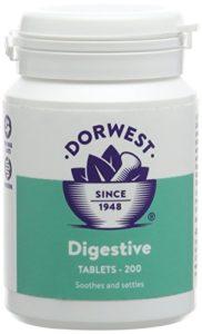 Dorwest Digestive Supplement Tablets (Size: 200 Tablets)