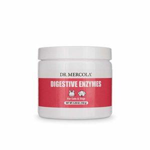 Dr. Mercola, Enzymes digestives pour les animaux domestiques, 5,26 oz (150 g)