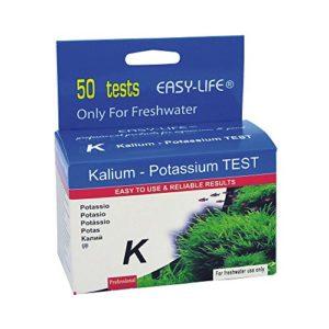 Easy Life Kit de Test Potassium Tests de Qualité d'eau