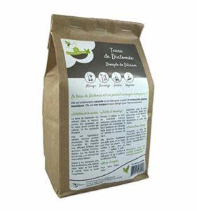 Eco-conseils Terre de Diatomée Alimentaire (pour Animaux) 1Kg – Protecteur et Insecticide Alimentaire Biologique – Emballage 100% écologique … (1kg)