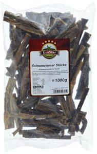 EcoStar Friandises pour Chien à Base de nerfs de bœuf, 1000 g, 1 Paquet