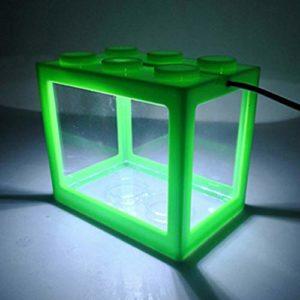 EDtara Aquarium en Acrylique pour Aquarium Vert