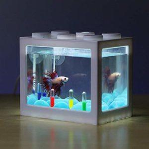 EDtara Aquarium en Acrylique pour Aquarium White